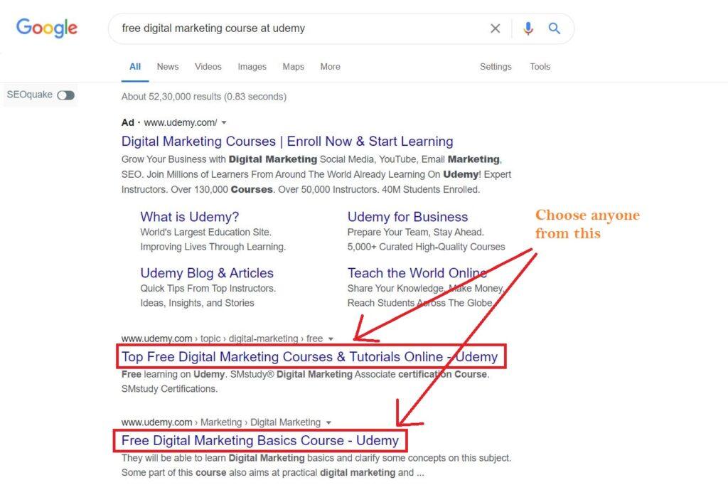 Free digital marketing courses everyone should go through